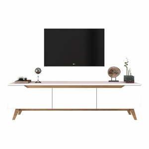 Biely TV stolík Wren