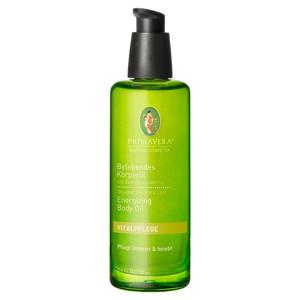 Telový olej Primavera Zázvor Limeta, 100 ml