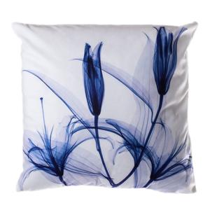 Vankúš JAHU Blue Tulip, 45 x 45 cm
