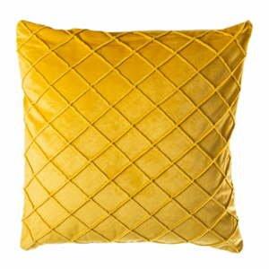 Žltý vankúš JAHU Alfa, 45 x 45 cm