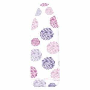 Bielo-fialový poťah na žehliacu dosku Wenko Dots M