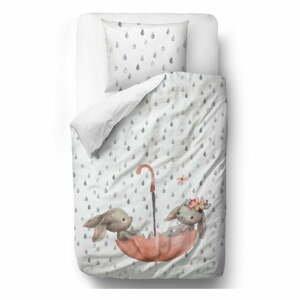 Detské obliečky z bavlneného saténu Mr. Little Fox Bunnie, 100 x 130 cm