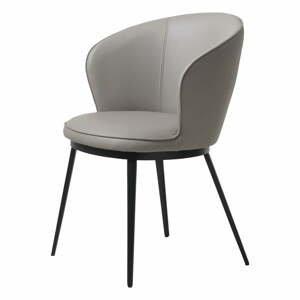 Sivé kreslo Unique Furniture Gain
