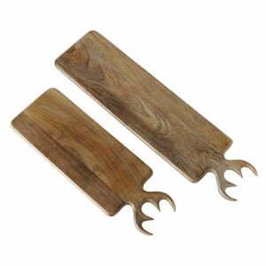 Sada 2 dosiek z mangového dreva Boltze Vaasa