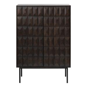 Čierna komoda Unique Furniture Latina