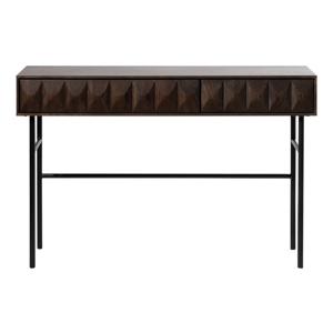 Čierny konzolový stolík Unique Furniture Latina