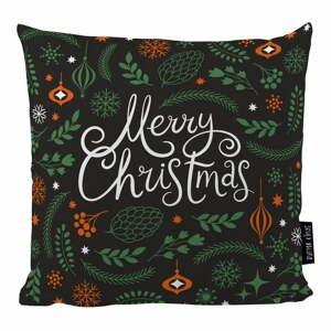Vankúš s vianočným motívom Butter Kings Very Merry, 50 x 50 cm