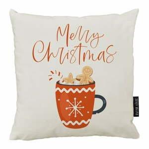 Vianočný vankúš s bavlnenou obliečkou Butter Kings Cacao, 50 x 50 cm