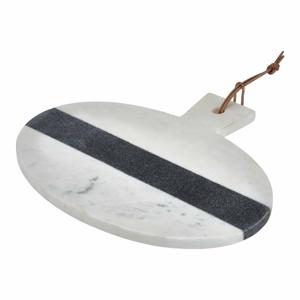Bielo-sivý mramorový servírovací lopárik Premier Housewares Marble