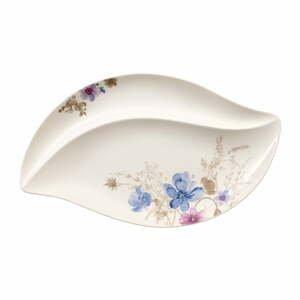 Servírovací porcelánový podnos s motívom kvetín Villeroy & Boch Mariefleur Serve, 50 x 30 cm