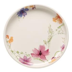 Servírovací porcelánový tanier s motívom kvetín Villeroy & Boch Mariefleur Basic, ⌀ 26 cm