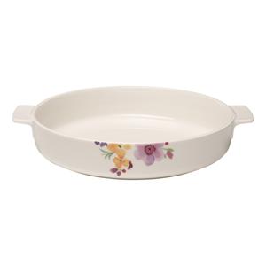 Porcelánová zapekacia miska s motívom kvetín Villeroy & Boch Mariefleur Basic