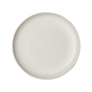 Biely porcelánový tanier Villeroy & Boch Uni, ⌀ 24 cm