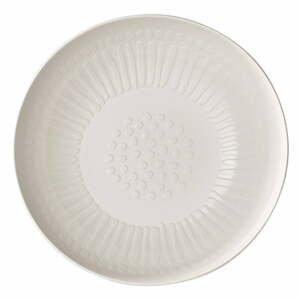Servírovacia biela porcelánová miska Villeroy & Boch Blossom, ⌀ 26 cm