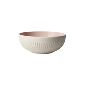 Bielo-ružová porcelánová miska Villeroy & Boch Blossom, 850 ml