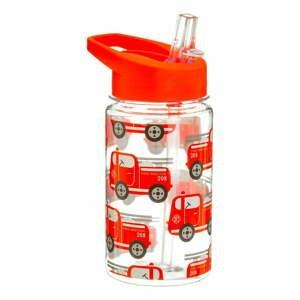 Detská fľaša na vodu Sass & Belle Drink Up Engine, 400 ml