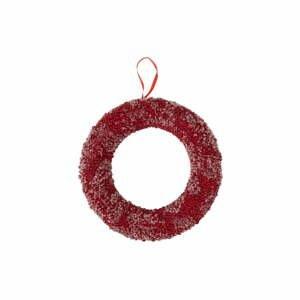Červený vianočný veniec J-Line Berries