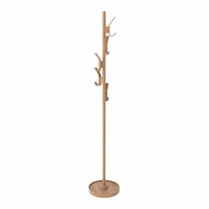 Prírodný vešiak z dubového dreva Wireworks