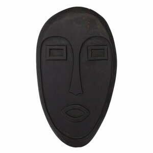 Čierna závesná dekorácia z dreva mango WOOOD Xavi