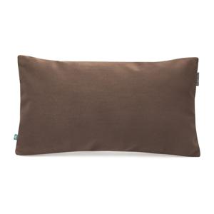 Hnedá obliečka na vankúš so zamatovým povrchom Mumla Velvet, 30 x 50 cm