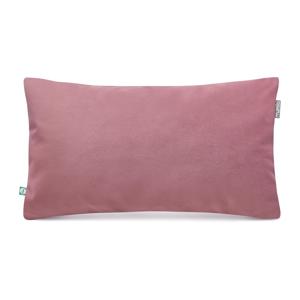 Ružová obliečka na vankúš so zamatovým povrchom Mumla Velvet, 30 x 50 cm
