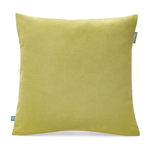 Zelená obliečka na vankúš Mumla Lyra, 45 x 45 cm