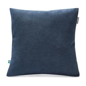 Námornícky modrá obliečka na vankúš Mumla Lyra, 45 x 45 cm