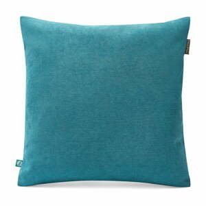 Modrá obliečka na vankúš Lyra, 45 x 45 cm