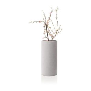Svetlosivá váza Blomus Bouquet,výška29cm