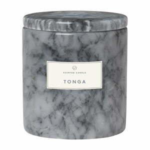 Sviečka s vôňou kvetiny tonga v mramorovej dóze Blomus Marble