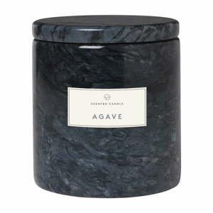 Sviečka s vôňou agáve v mramorovej dóze Blomus Marble