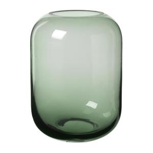 Zelená sklenená váza Blomus Bright,výška21,5cm