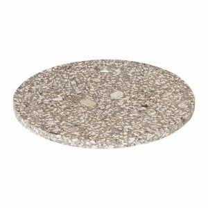 Béžová servírovacia doska Blomus Stone,ø20cm