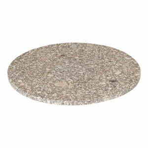 Béžová servírovacia doska Blomus Stone,ø30cm