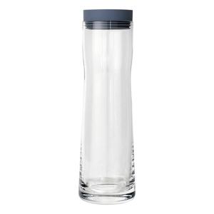 Sklenená karafa na vodu so silikónovým vekom Blomus Aqua,1l