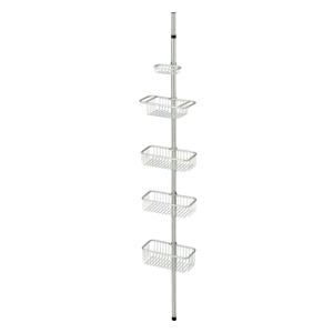 Kovový organizér s nastaviteľnou výškou tyče iDesign Forma, 152 - 274 cm