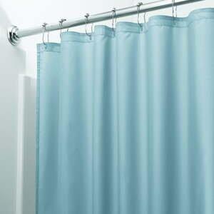 Modrý sprchový záves iDesign, 200 x 180 cm