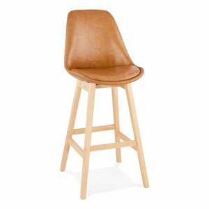 Hnedá barová stolička Kokoon Janie, výška sedu 75 cm