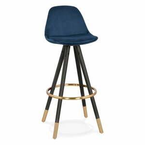 Tmavomodrá barová stolička Kokoon Carry, výška sedenia 75 cm