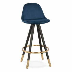 Tmavomodrá barová stolička Kokoon Carry Mini, výška sedenia 65 cm