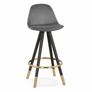 Tmavosivá barová stolička Kokoon Carry Mini, výška sedenia 65 cm