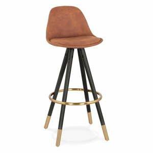 Hnedá barová stolička Kokoon Bruce, výška sedenia 75 cm