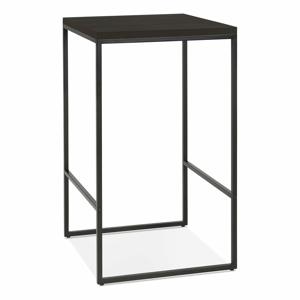Čierny barový stôl Kokoon Tikafe, výška 105 cm