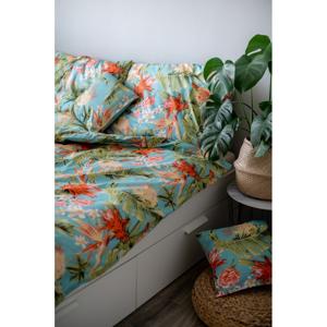 Bavlnené obliečky Cotton House Jungle, 140 x 200 cm