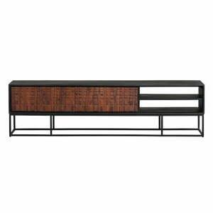 TV stolík z exotického dreva sheesham BePureHome