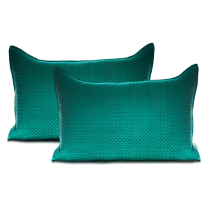 Zelená obliečka na vankúš DecoKing Carmen, 50 x 70 cm
