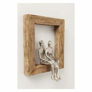 Nástenná dekorácia Kare Design Loving Couple