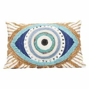 Bavlnený vankúš Kare Design Ethno Eye, 35 x 55 cm