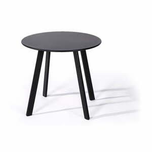 Sivý záhradný stôl Le Bonom Full Steel, ø 50 cm