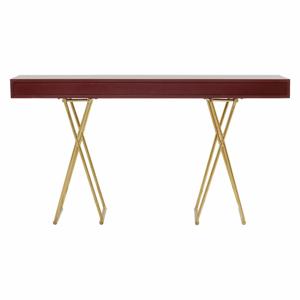Červený konzolový stolík Kare Design Disk